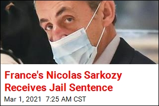 France's Nicolas Sarkozy Receives Jail Sentence