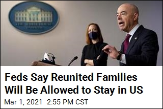 Separated Families Will Be Allowed to Stay in US