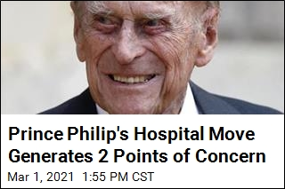 Prince Philip's Hospital Stay Turning Into a Lengthy One