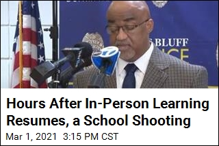 On First Day Back in Weeks, Shooting at Arkansas School