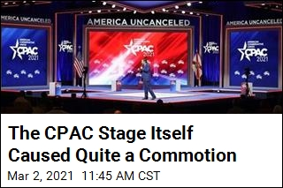 Here's Why CPAC Stage Itself Caused Quite a Commotion