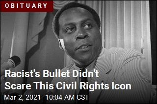Racist's Bullet Didn't Scare This Civil Rights Icon