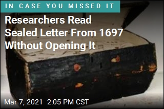 Dental Scanner Reveals Contents of Sealed Letter From 1697