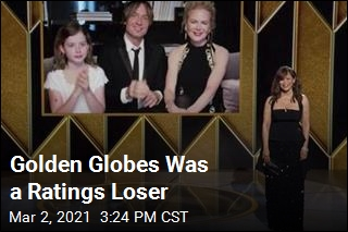 Viewers Take a Pass on Golden Globes