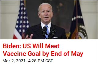 Biden: US Will Meet Vaccine Goal by End of May