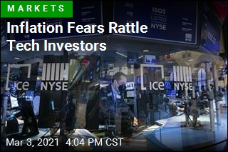 Inflation Fears Rattle Tech Investors