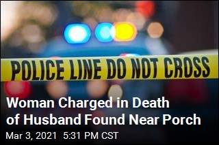 Woman Charged in Death of Husband