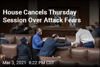 House Cancels Thursday Session Over Attack Fears