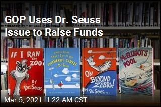 GOP Is Raising Money by Sending Donors Seuss Books