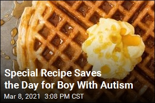 Company Finds a Way for Autistic Boy's Waffles