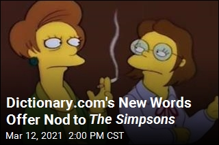 Dictionary.com's New Words Offer Nod to The Simpsons
