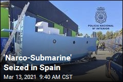 'Narco-Submarine' Seized in Spain