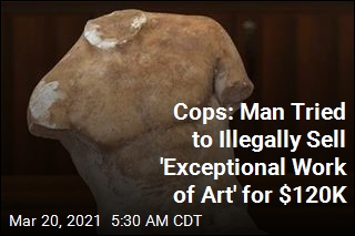 Cops: Man Tried to Illegally Sell 'Exceptional Work of Art' for $120K
