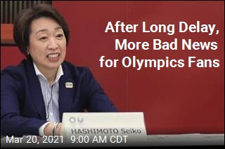 After Long Delay, More Bad News for Olympics Fans