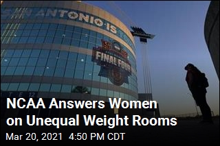 NCAA Answers Women on Unequal Weight Rooms