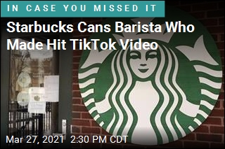 Starbucks Cans Barista Who Made Viral Video