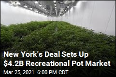 New York's Deal Sets Up $4.2B Recreational Pot Market
