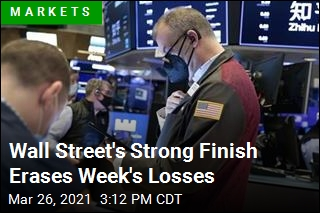 Wall Street's Strong Finish Erases Week's Losses