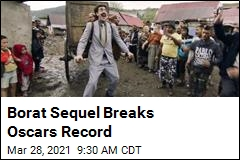 Borat Sequel Breaks Oscars Record