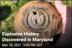 Explosive History Discovered in Maryland