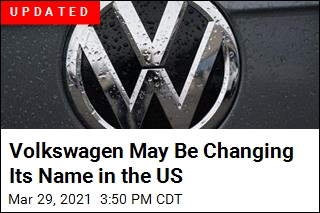 Volkswagen May Be Changing Its Name in the US