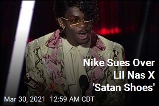 Nike Sues Over Lil Nas X 'Satan Shoes'