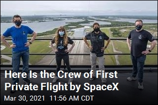 Here Is the Crew of First Private Flight by SpaceX