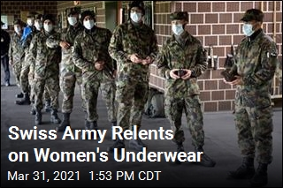 Swiss Army Relents on Women's Underwear