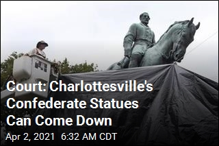Court: Charlottesville's Confederate Statues Can Come Down