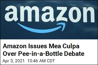 Amazon Apologizes Over Pee-in-a-Bottle Response