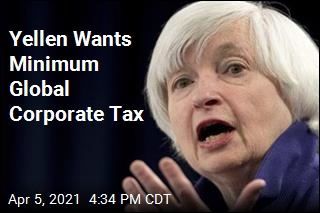 Yellen Wants Corporate Tax Minimum Worldwide
