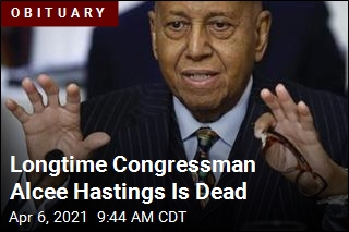 Longtime Congressman Alcee Hastings Is Dead