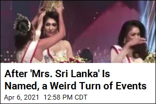 After Winner Is Named, Mrs. World Seizes Her Crown