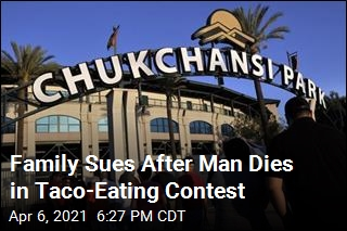 Family Sues After Man Dies in Taco-Eating Contest