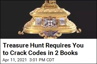 2 Books Offer Treasure Hunt With Reward of Nearly $1M