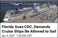 Florida Sues CDC, Demands Cruise Ships Be Allowed to Sail