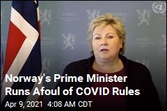 Prime Minister Fined for Violating COVID Rules