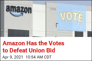 Amazon Has the Votes to Defeat Union Bid
