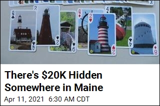 Maine Couple Entices Treasure Hunters With $20K Prize