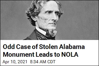 Odd Case of Stolen Alabama Monument Leads to NOLA