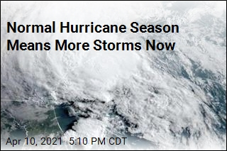 Average Storm Count Climbs for Hurricane Season