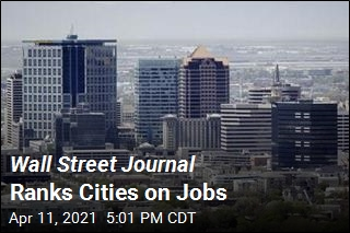 Wall Street Journal Ranks Cities on Jobs