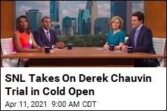 SNL Takes On Derek Chauvin Trial in Cold Open