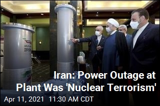 Iran: Power Outage at Plant Was 'Nuclear Terrorism'