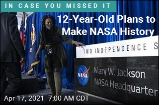 12-Year-Old Plans to Make NASA History
