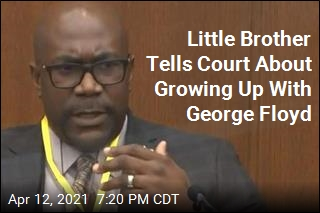 Little Brother Tells Court About Growing Up With George Floyd