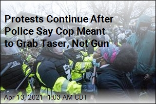 Protests Continue After Police Say Gun Was Confused for Taser