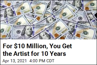 Artist Will Livestream Himself For 5 years for $5 Million