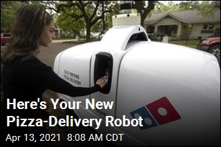Domino's Offers Pizza Delivery by Robot