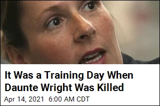It Was a Training Day When Daunte Wright Was Killed